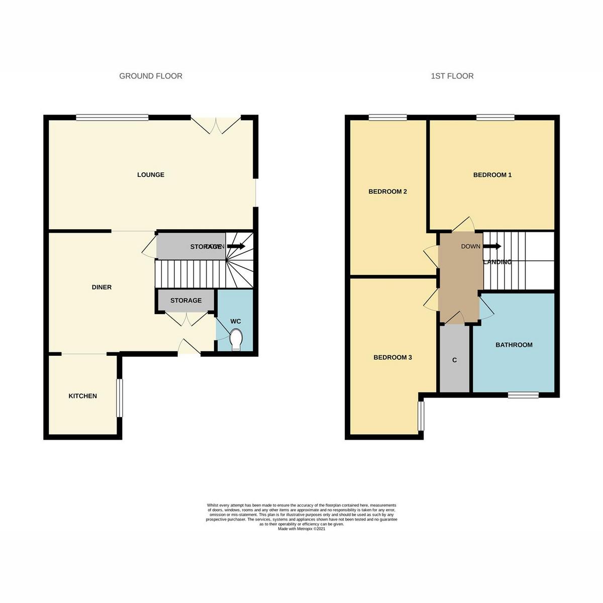 Floorplan 1 of Broomfields, Basildon, SS13