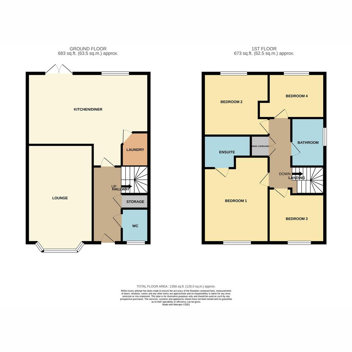 Floorplan 1 of The Oaks, Benfleet, SS7