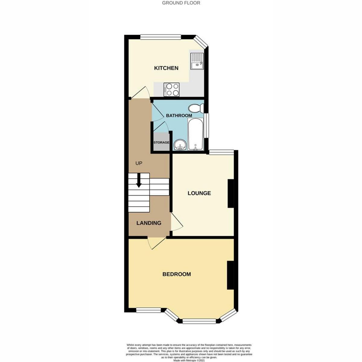 Floorplan 1 of Milton Street, Southend-on-sea, SS2