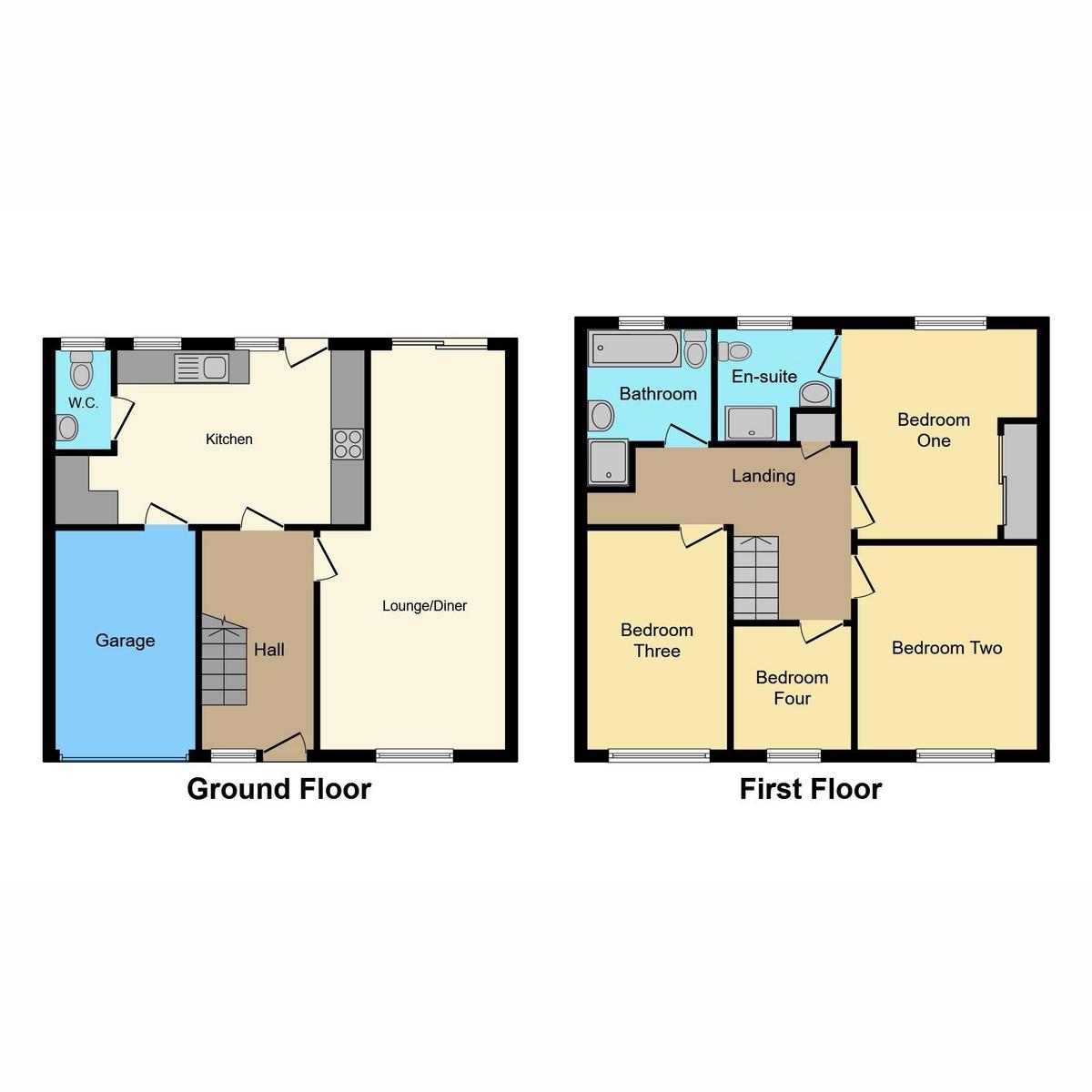 Floorplan 1 of Briar Close, Hockley, SS5