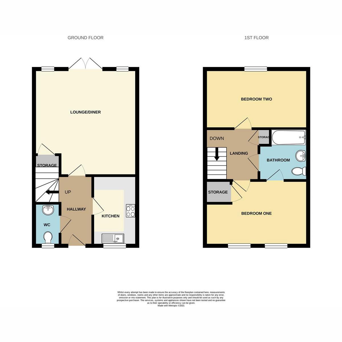 Floorplan 1 of Kirkham Road, Southend-on-sea, SS2