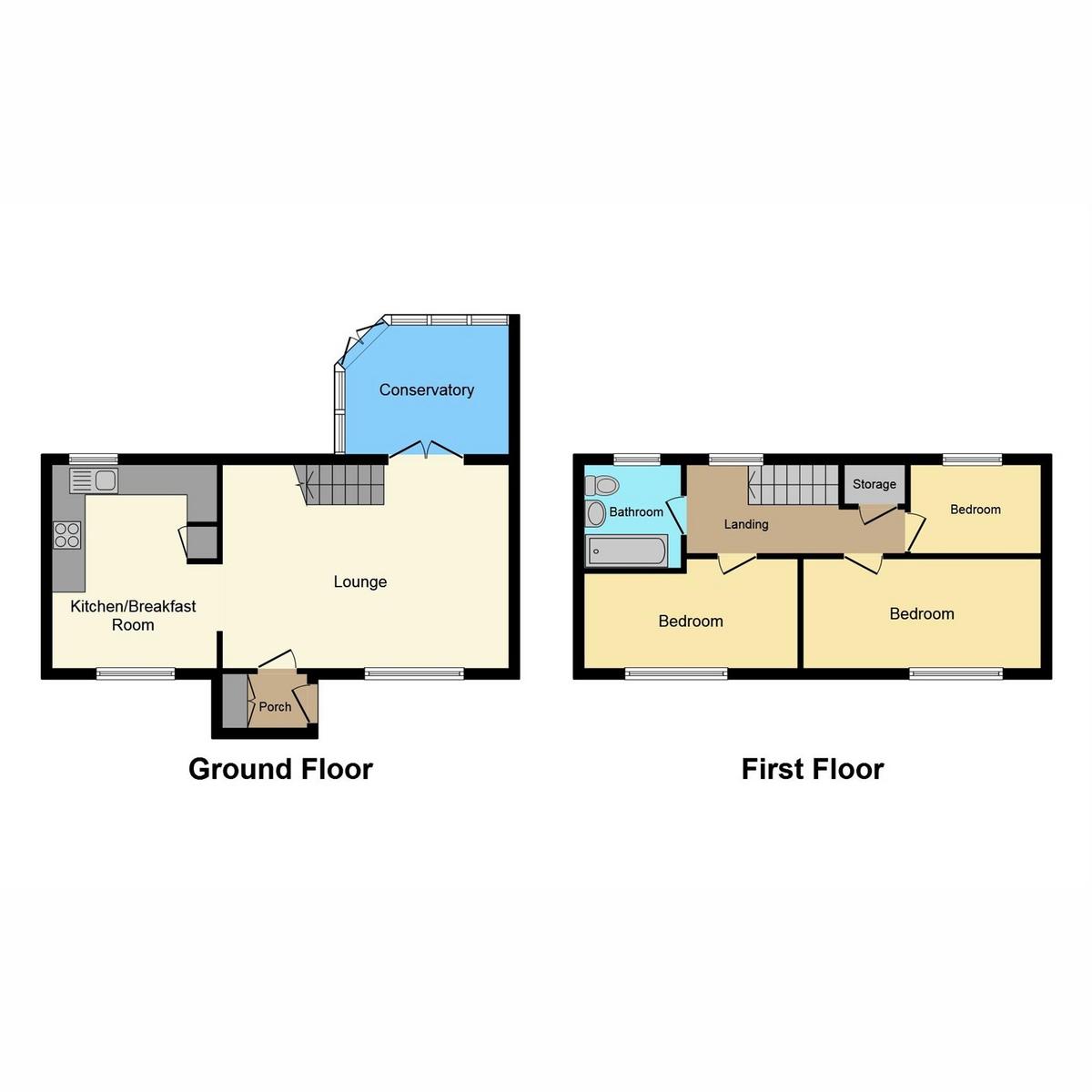 Floorplan 1 of The Drakes Shoeburyness, Southend-on-sea, SS3