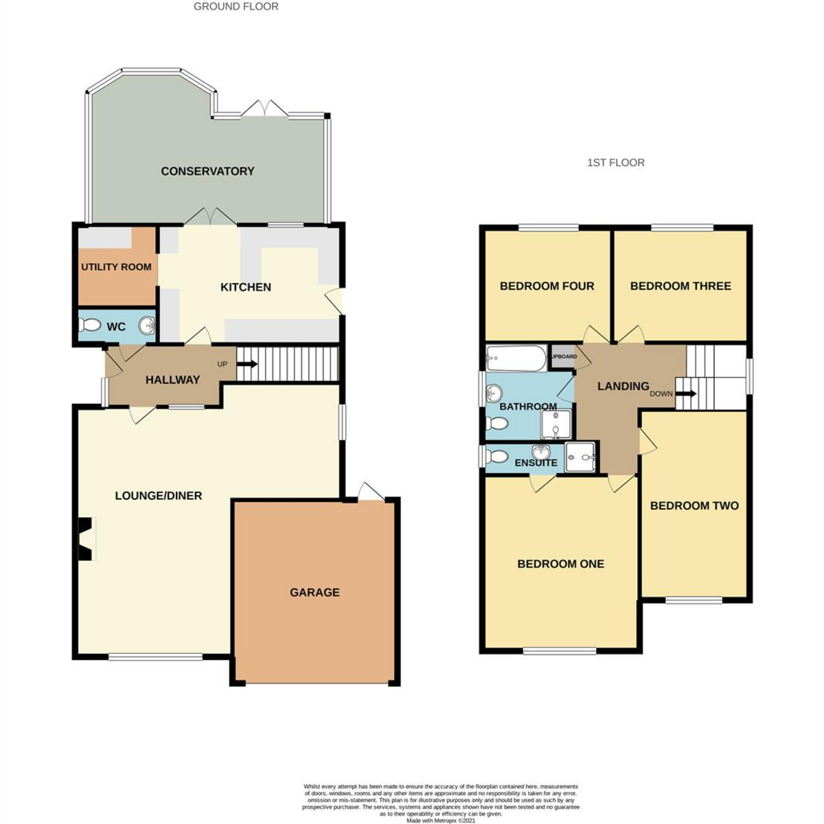 Floorplan 1 of Martingale, Thundersley, SS7