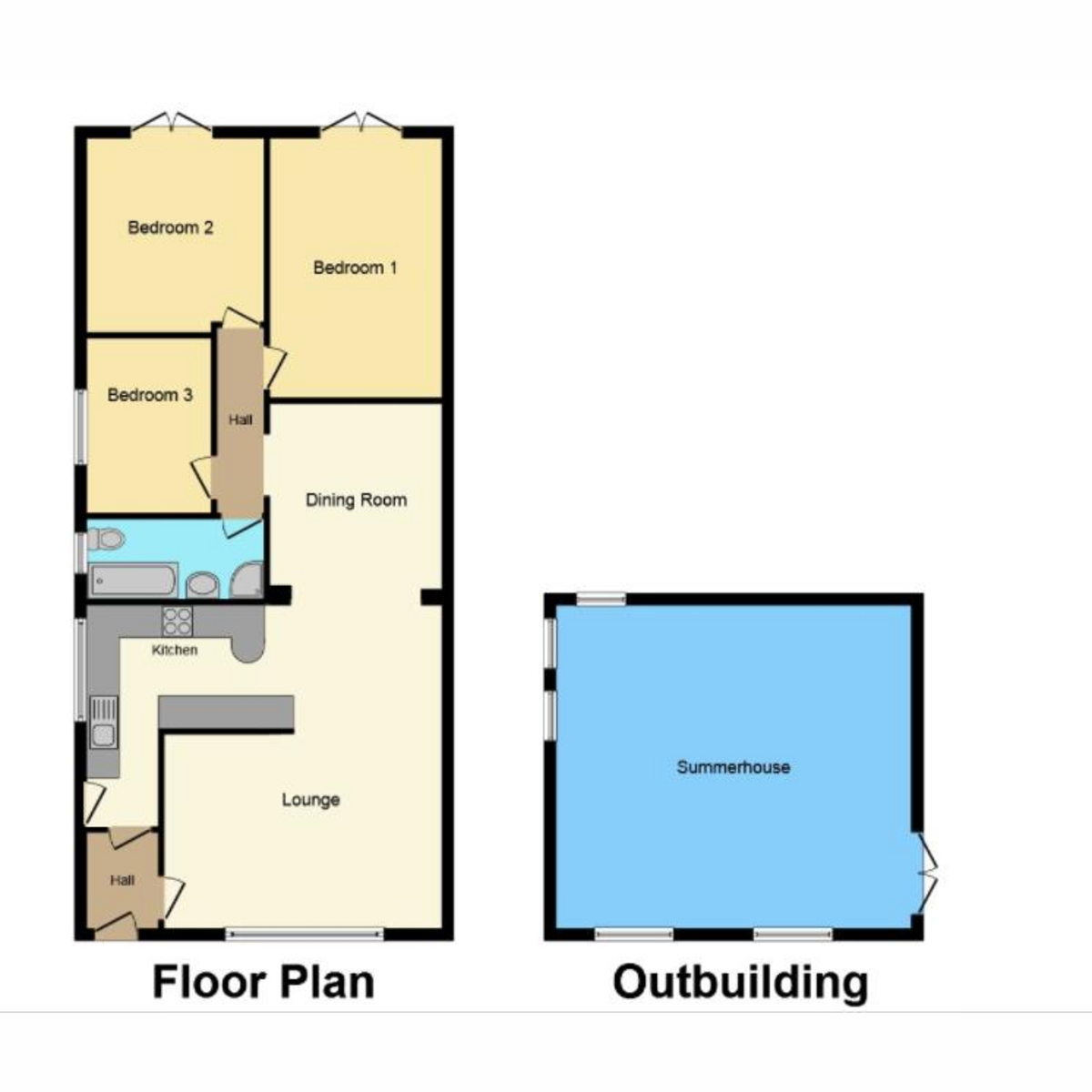 Floorplan 1 of Villa Road, Benfleet, SS7