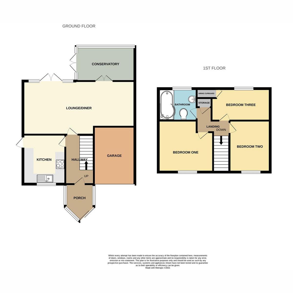 Floorplan 1 of The Larches, Benfleet, SS7