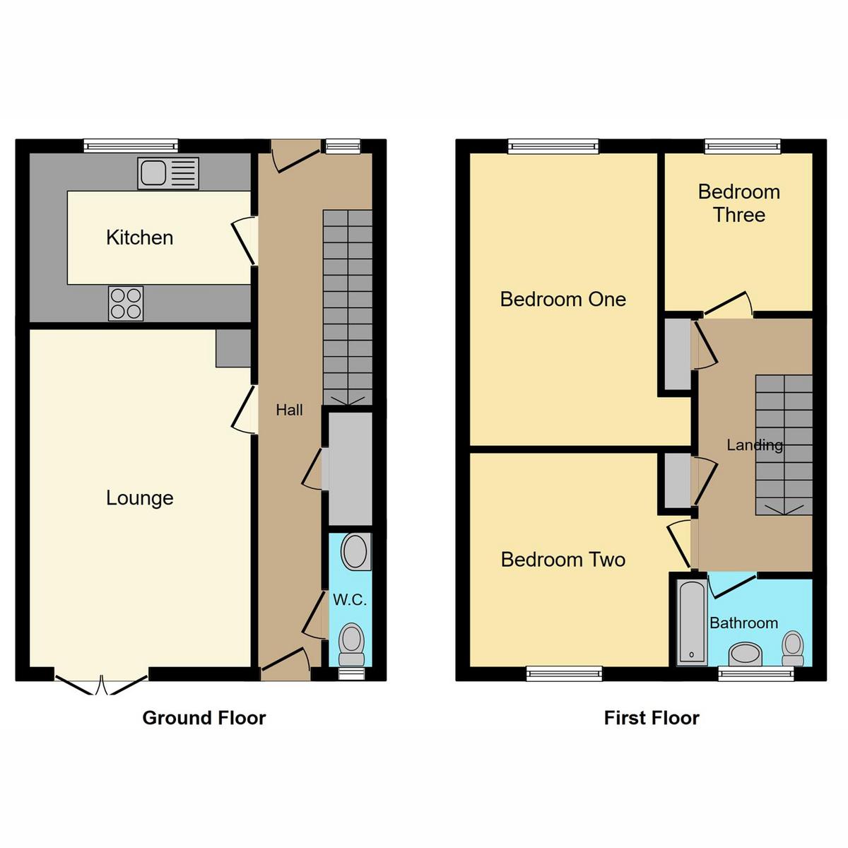 Floorplan 1 of Anson Chase Shoeburyness, Southend-on-sea, SS3