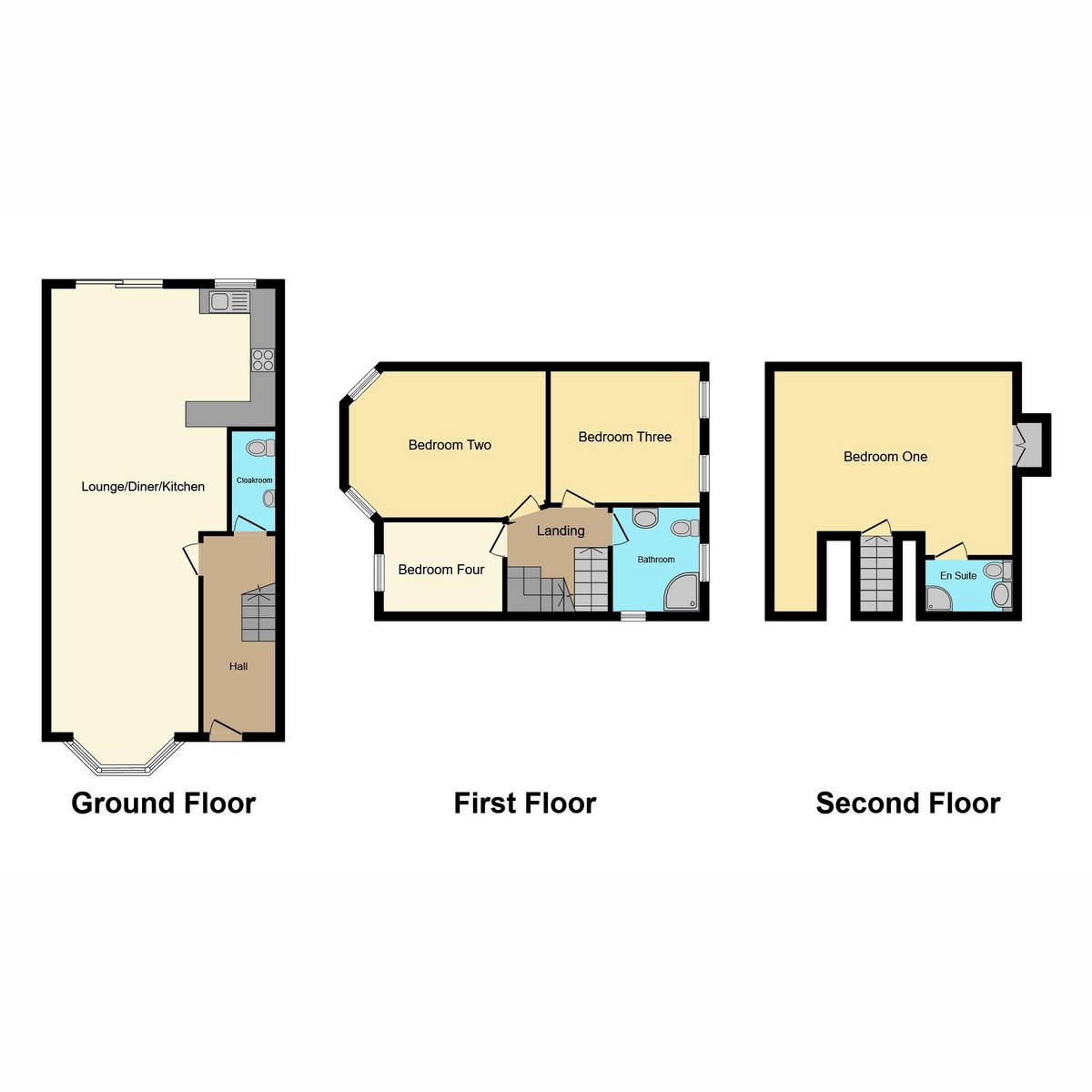 Floorplan 1 of Bournemouth Park Road, Southend-on-sea, SS2