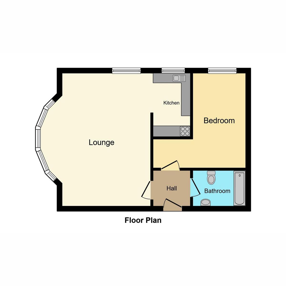 Floorplan 1 of Preston Road, Westcliff-on-sea, SS0