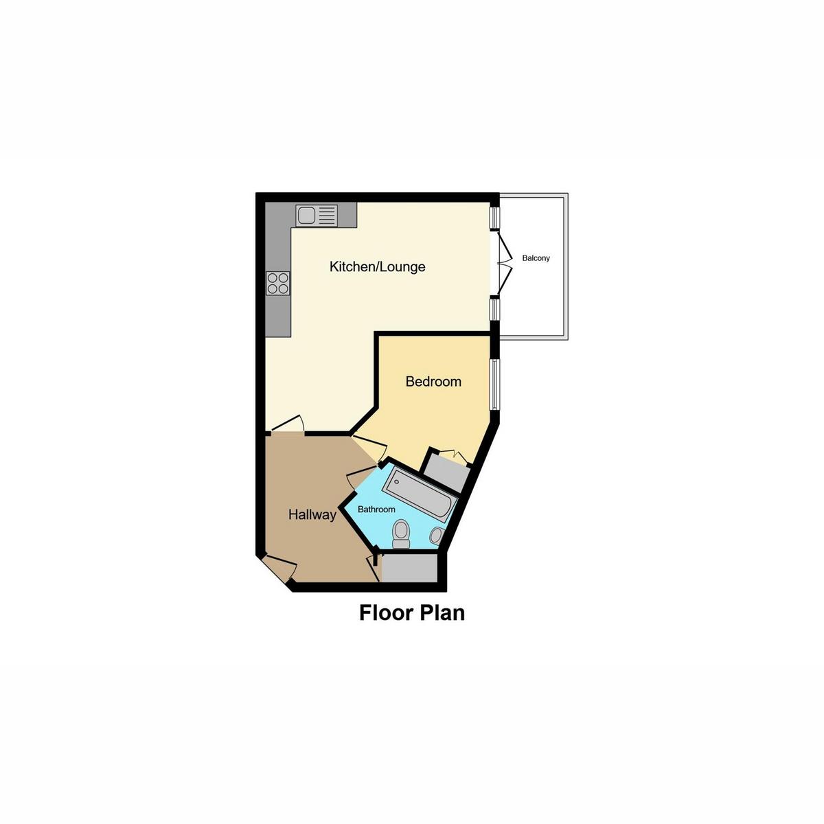 Floorplan 1 of Boleyn House Roche Close, Rochford, SS4