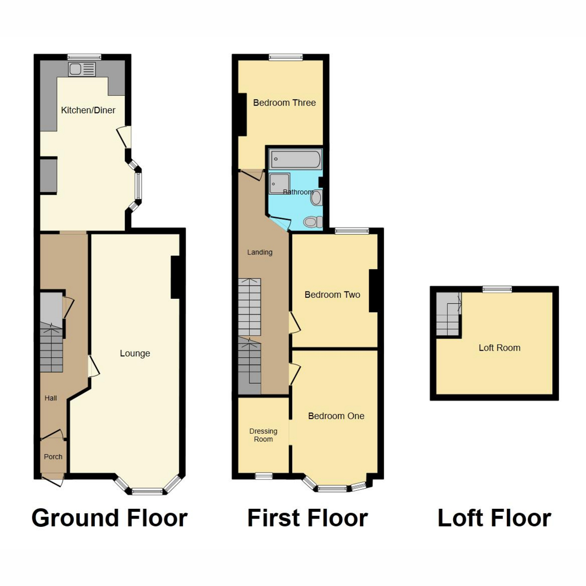 Floorplan 1 of Richmond Avenue, Southend-on-sea, SS3
