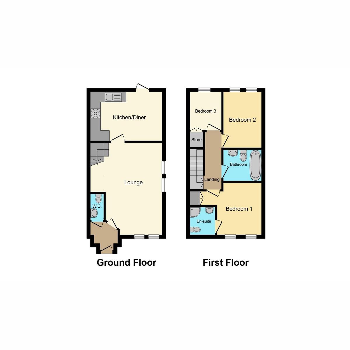 Floorplan 1 of Hera Close, Southend-on-sea, SS2