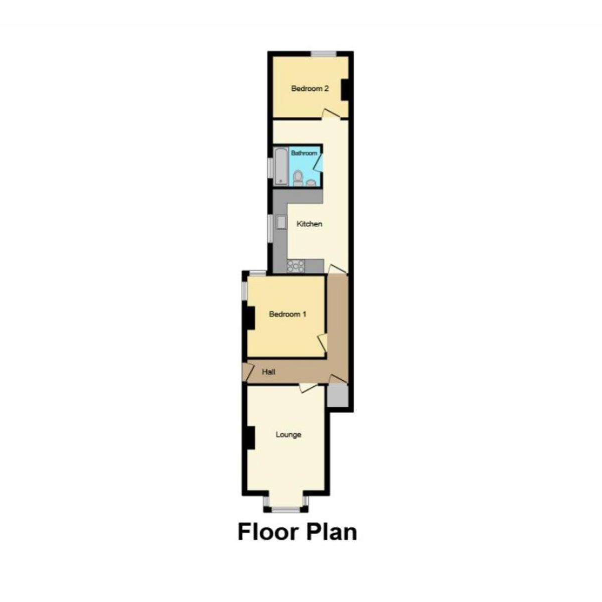 Floorplan 1 of Shakespeare Drive, Westcliff-on-sea, SS0