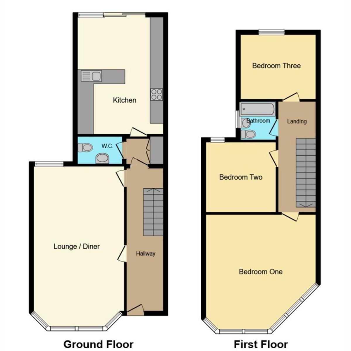 Floorplan 1 of Westcliff Park Drive, Westcliff-on-sea, SS0