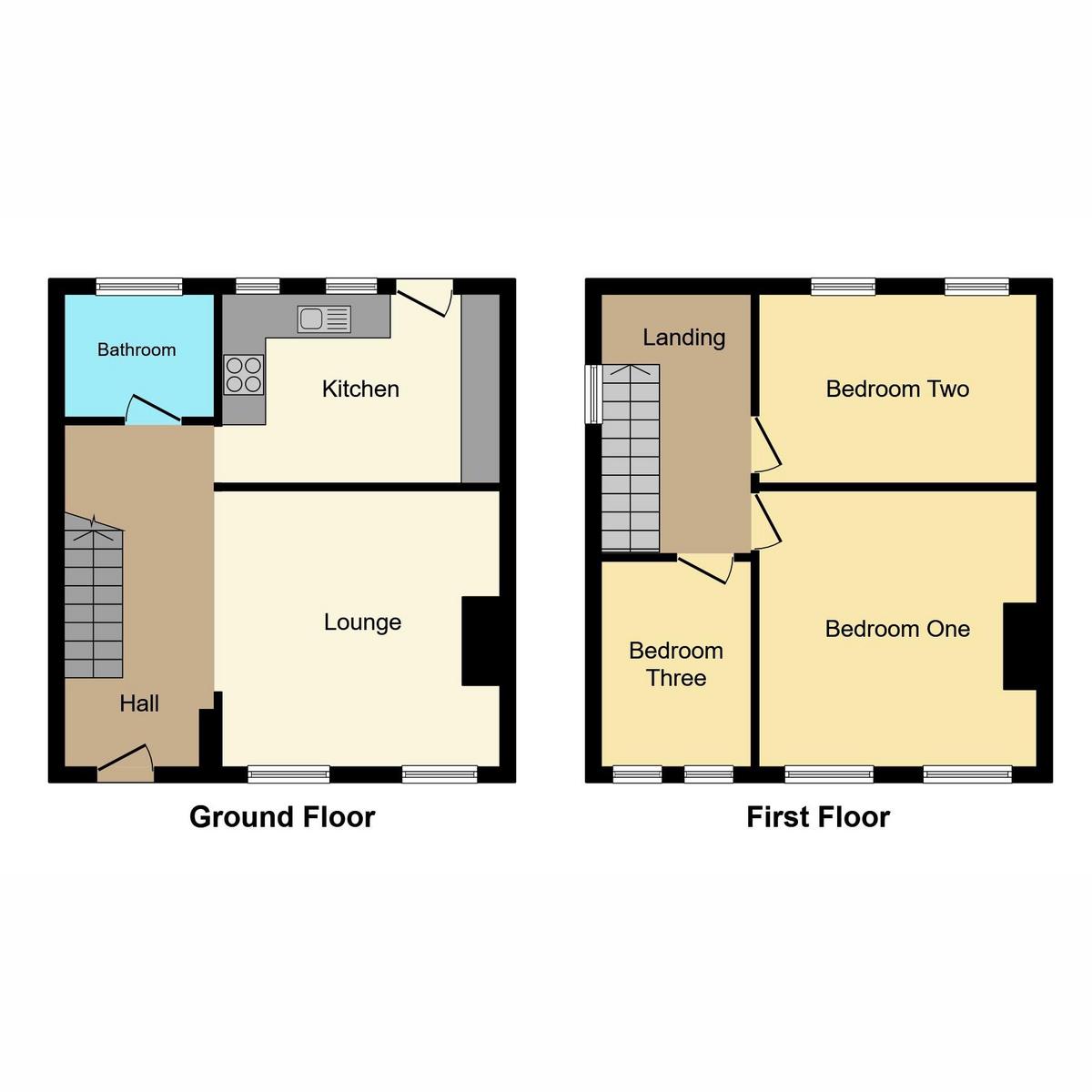 Floorplan 1 of Carlton Avenue, Westcliff-on-sea, SS0