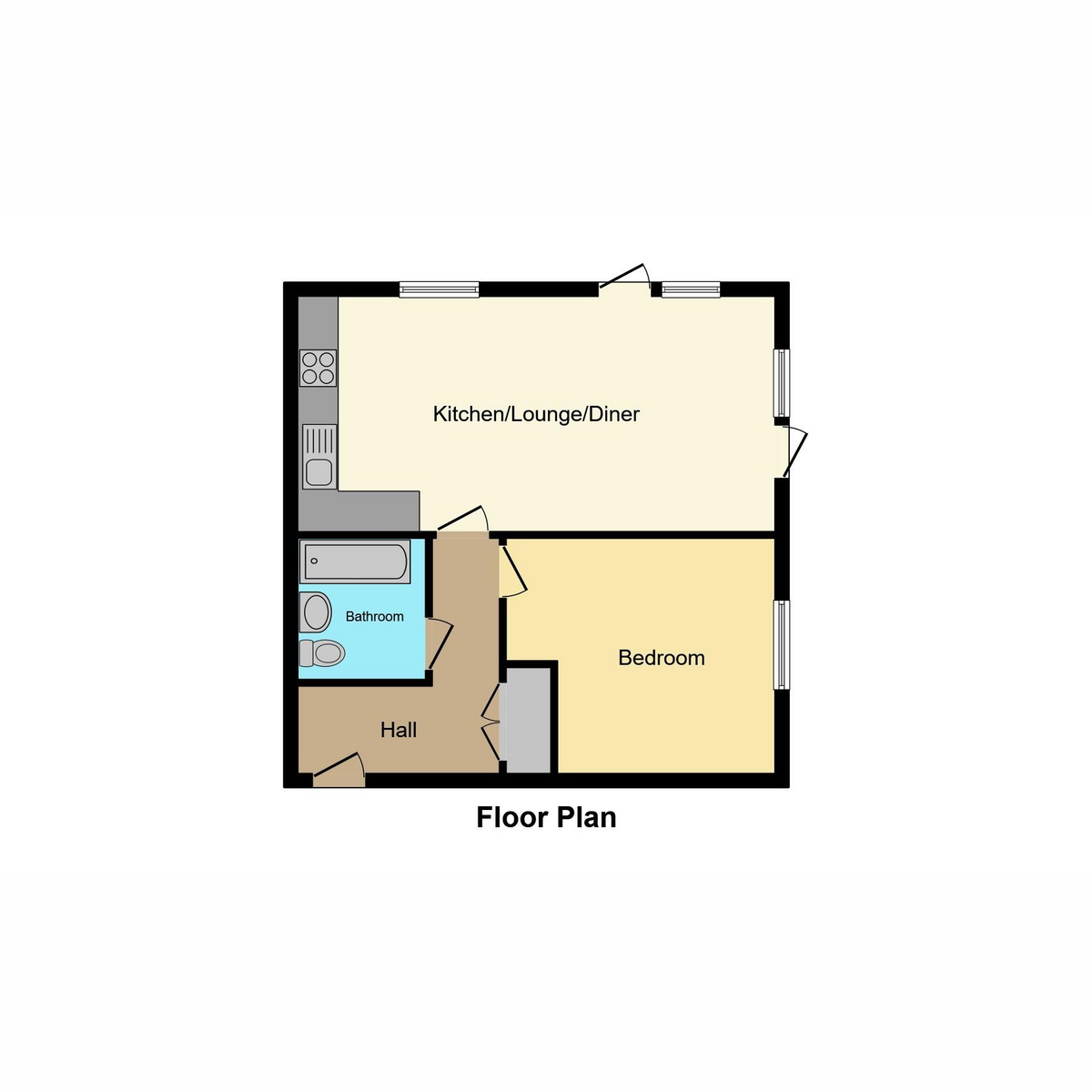 Floorplan 1 of Cole Avenue, Southend-on-sea, SS2
