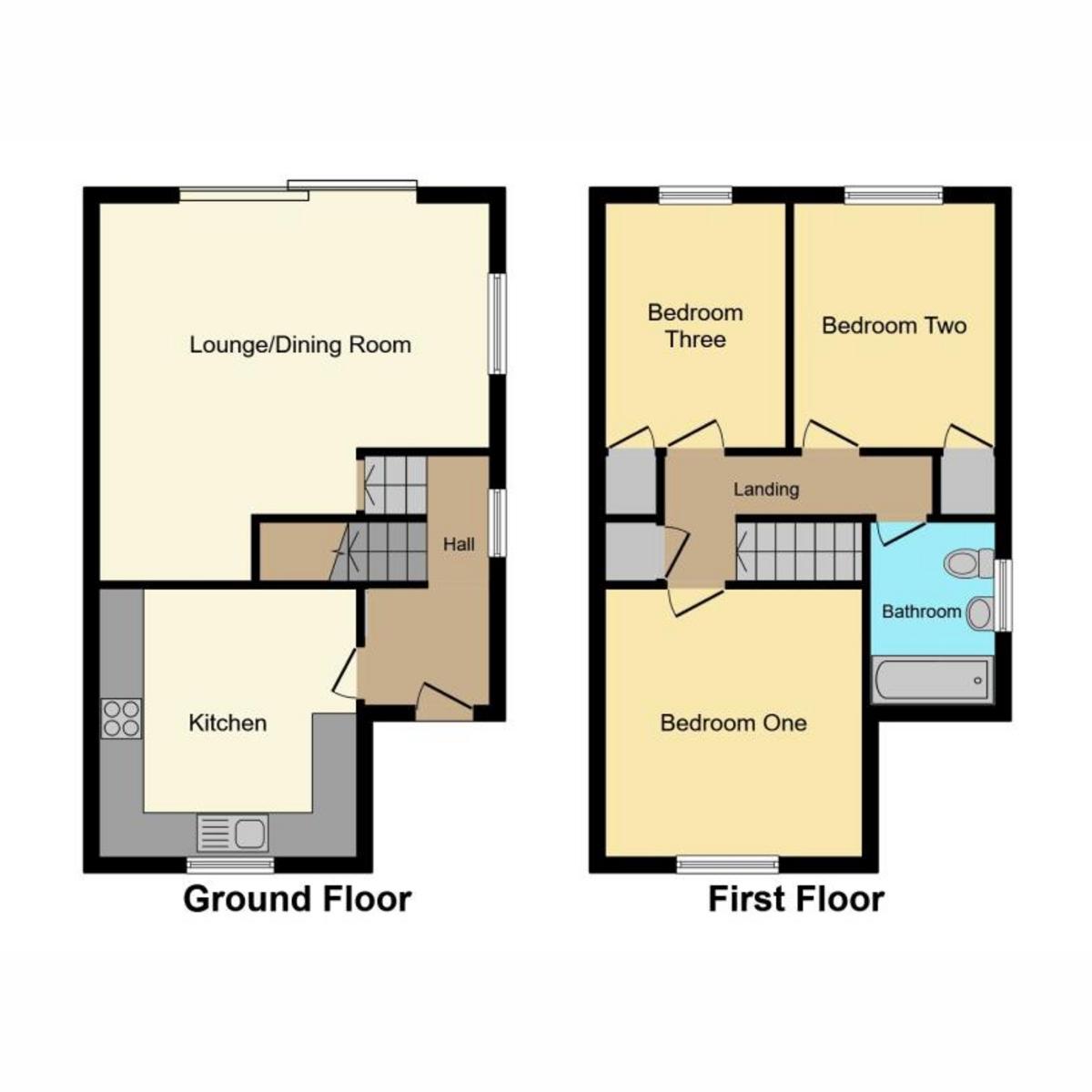 Floorplan 1 of Rectory Road, Rochford, SS4
