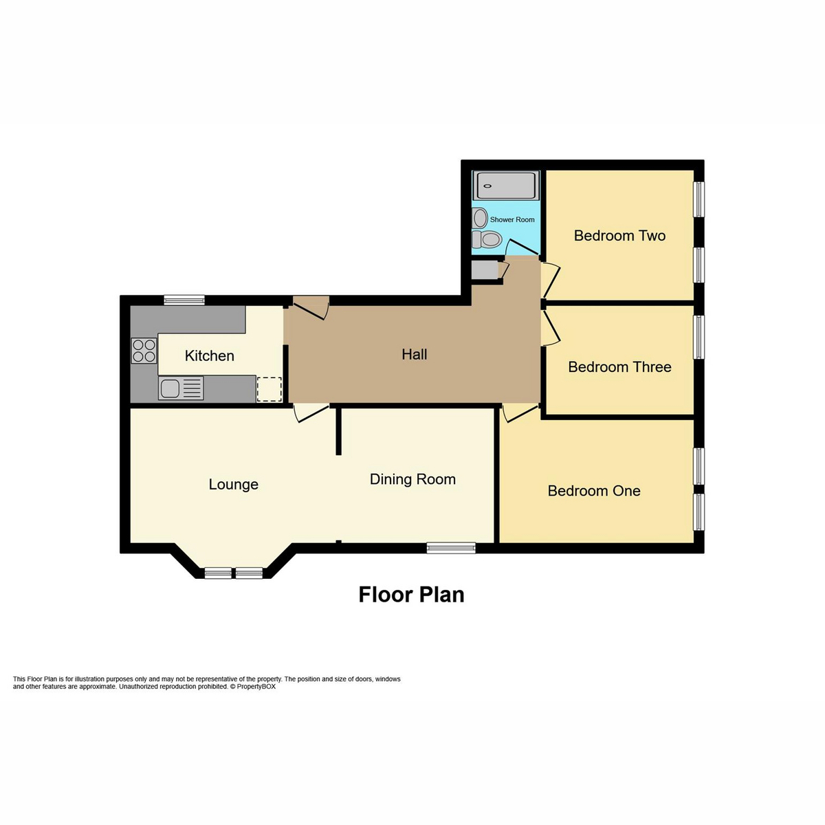 Floorplan 1 of The Woodlands, Southend-On-Sea, SS3