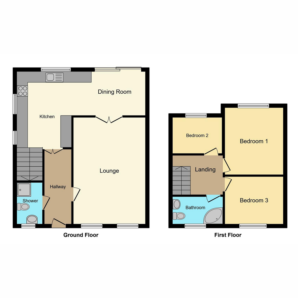 Floorplan 1 of Second Avenue, Stanford-le-hope, SS17