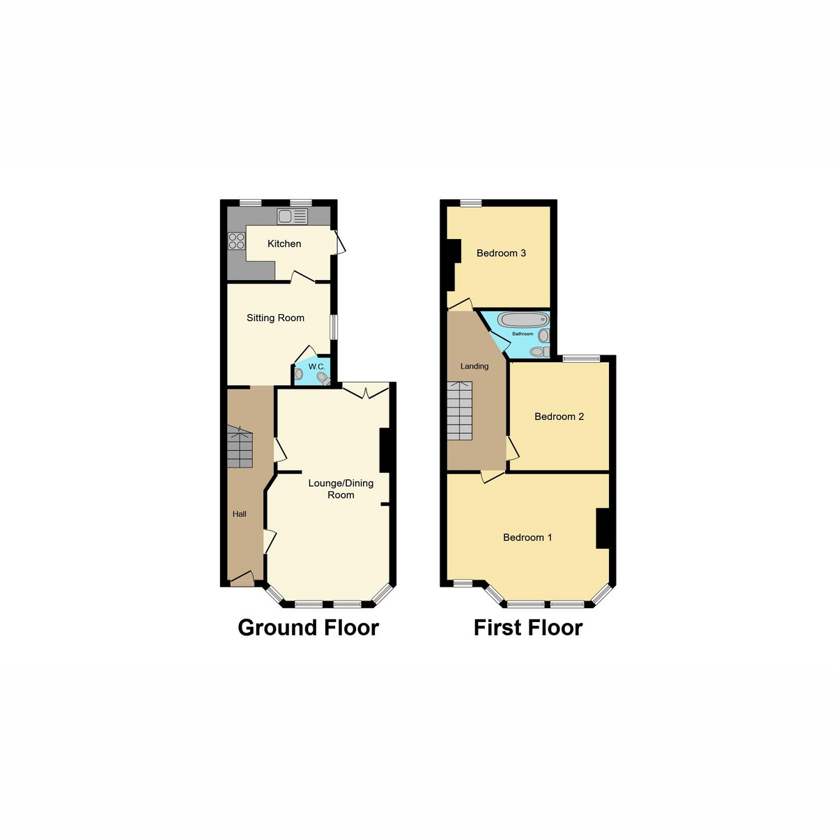 Floorplan 1 of Claremont Road, Westcliff-on-sea, SS0