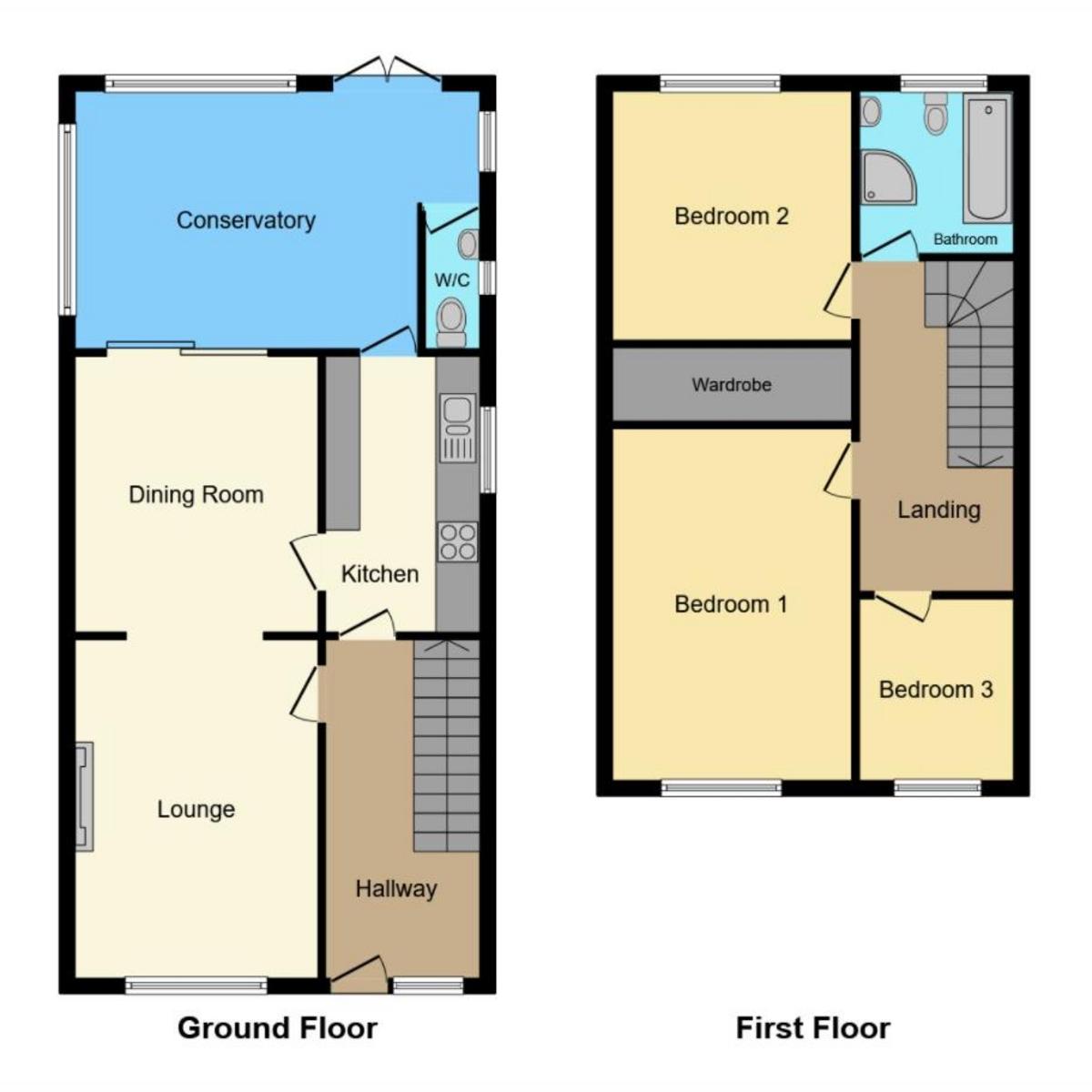 Floorplan 1 of Jackdaw Close, Shoeburyness Southend-on-sea, SS3