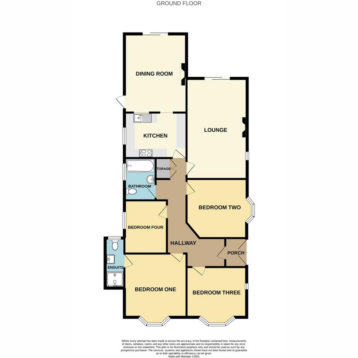 Floorplan 1 of Poynings Avenue, Southend-on-sea, SS2