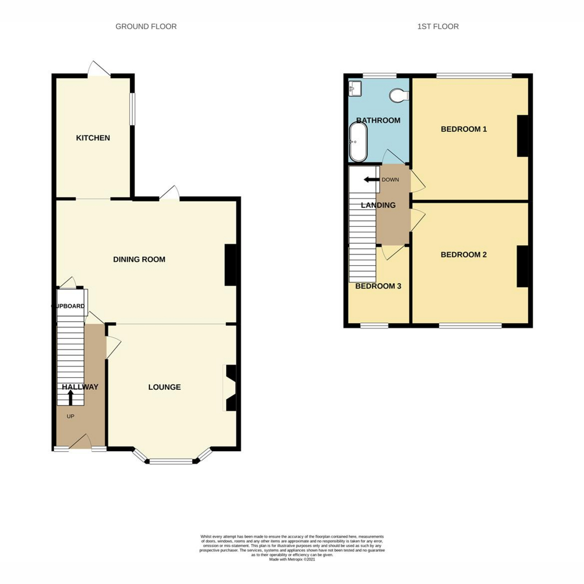 Floorplan 1 of Central Avenue, Southend-on-sea, SS2