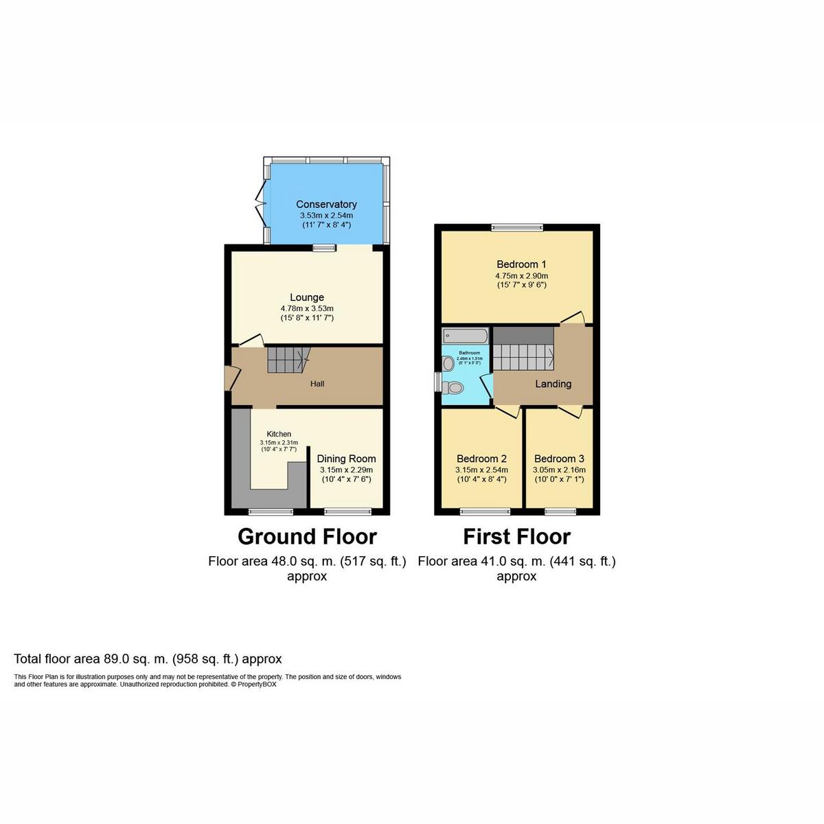 Floorplan 1 of Orchard Road, Benfleet, SS7