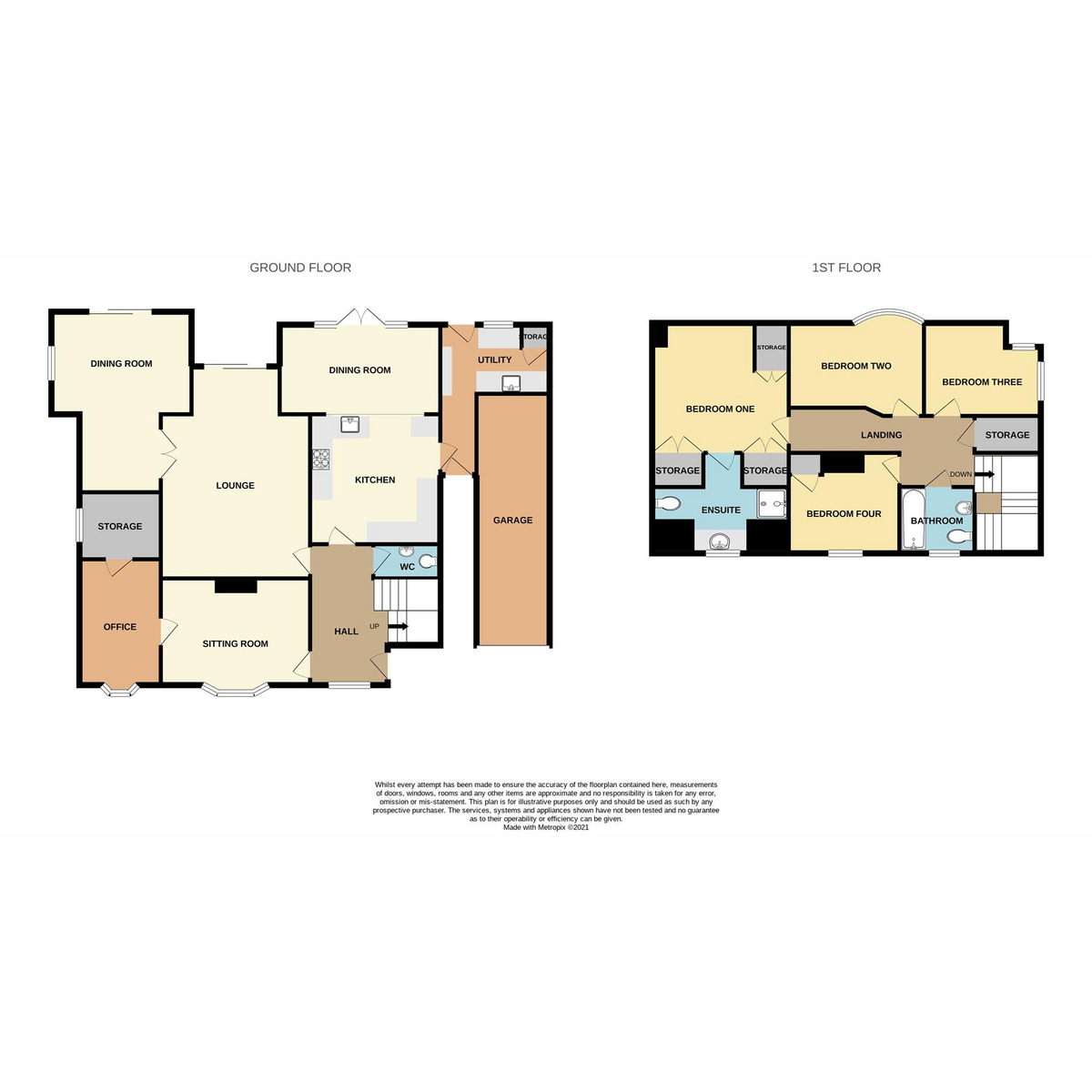 Floorplan 1 of St. Marys Road, Benfleet, SS7