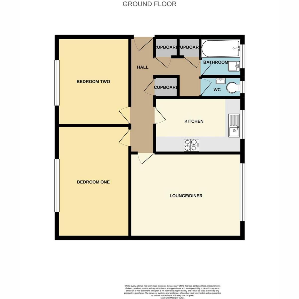 Floorplan 1 of Castle Lane, Benfleet, SS7