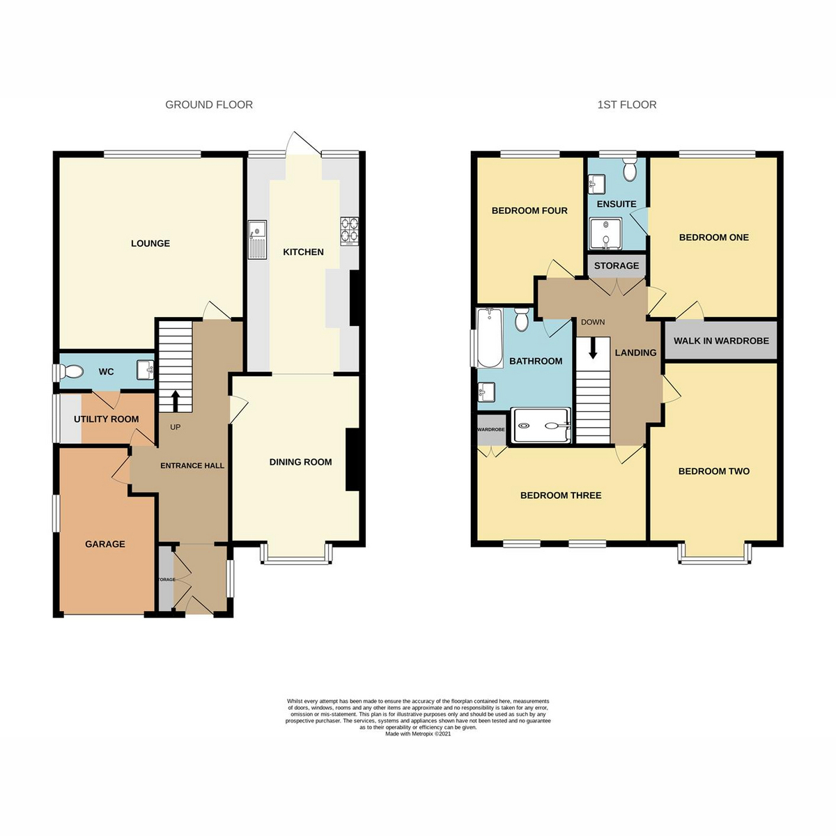 Floorplan 1 of New Road, Benfleet, SS7