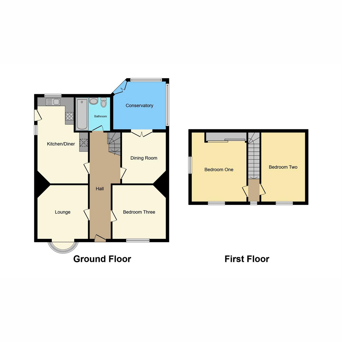 Floorplan 1 of Beech Road, Benfleet, SS7