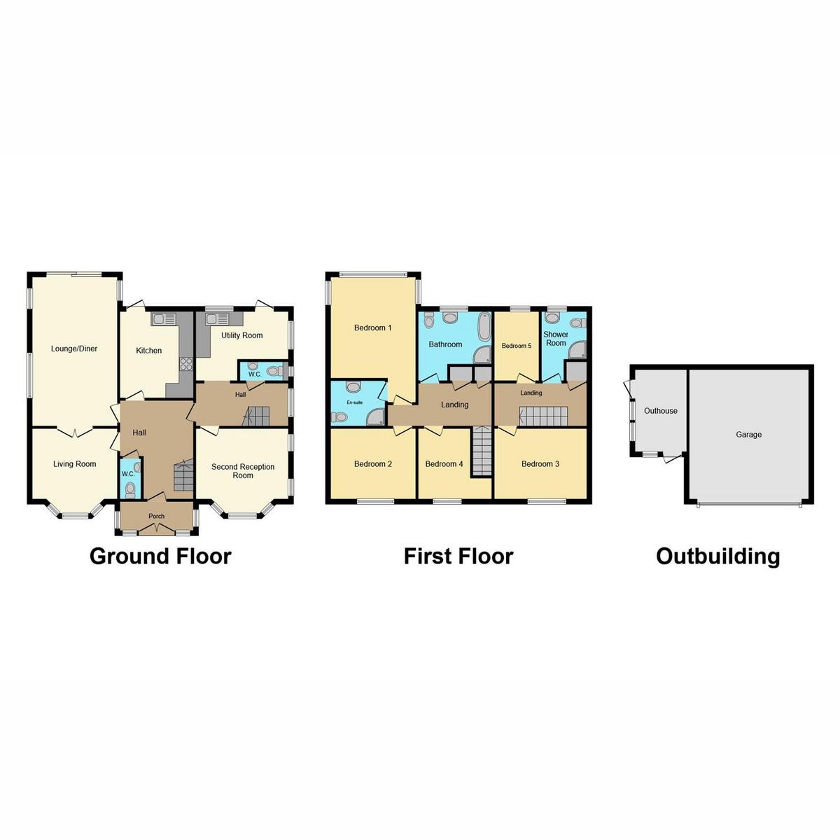 Floorplan 1 of Wensley Road, Benfleet, SS7