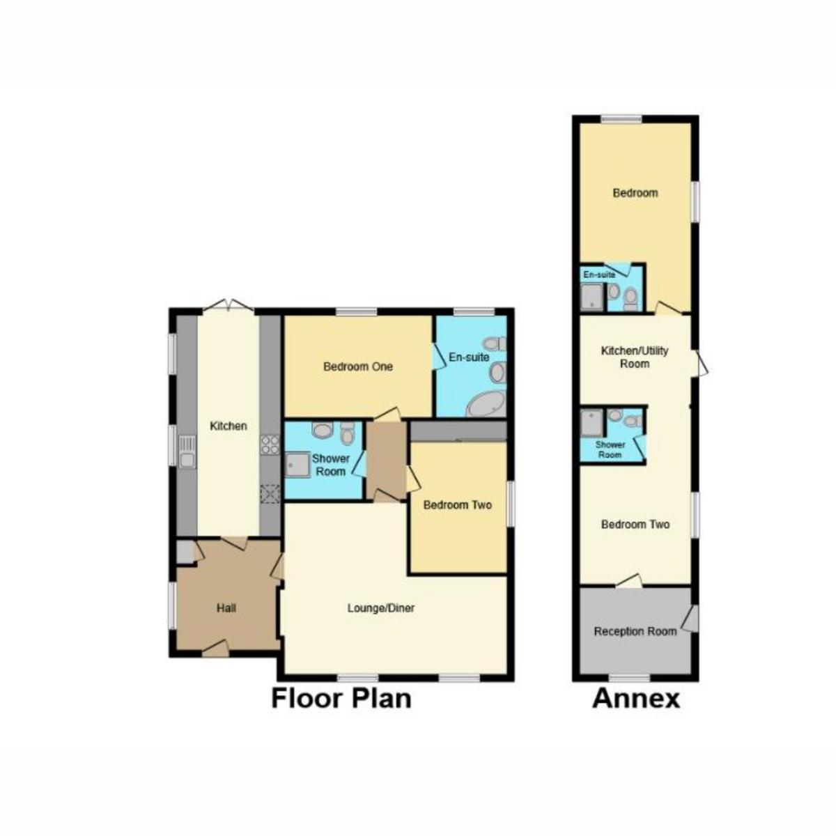 Floorplan 1 of Windermere Road, Benfleet, SS7