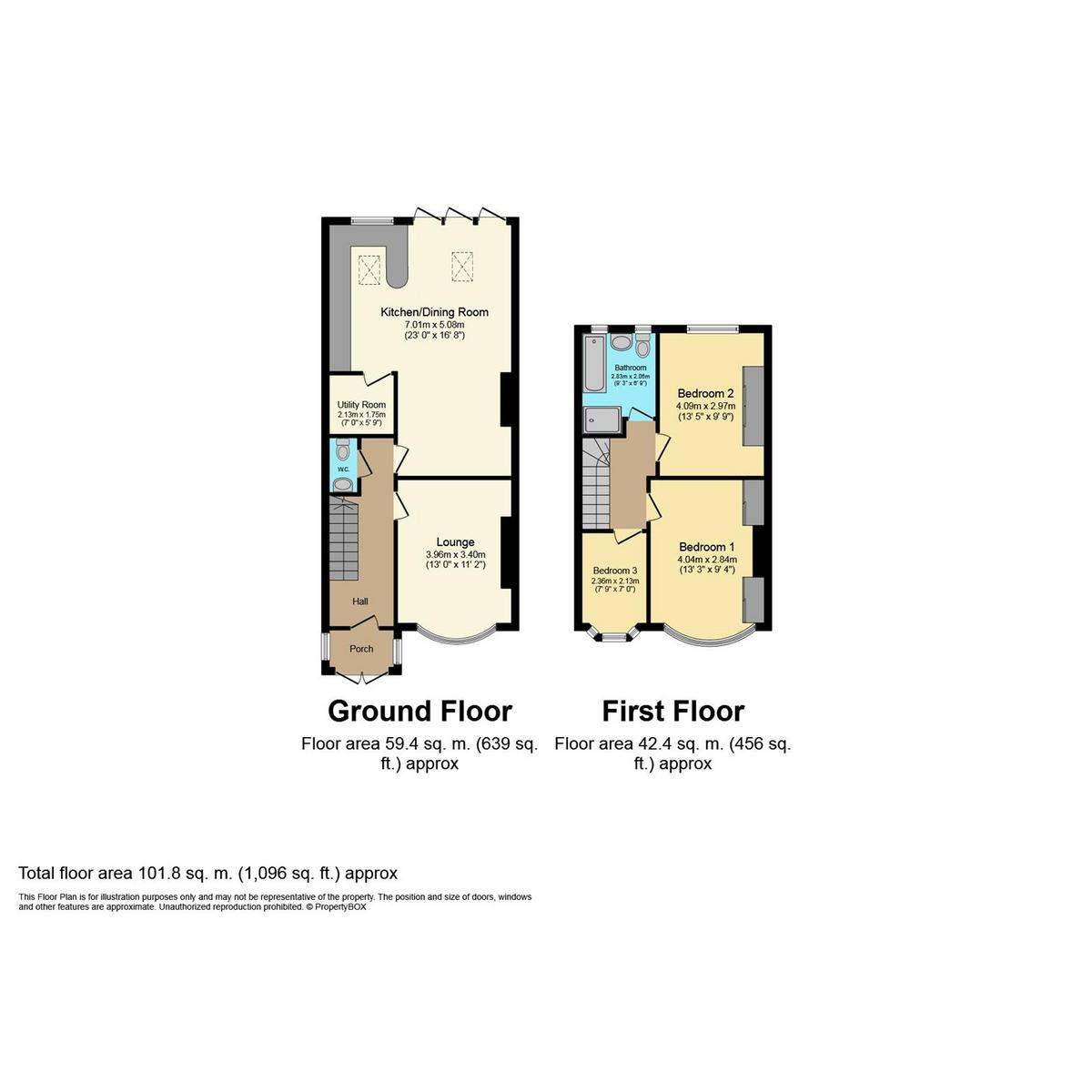 Floorplan 1 of Marguerite Drive, Leigh-on-sea, SS9