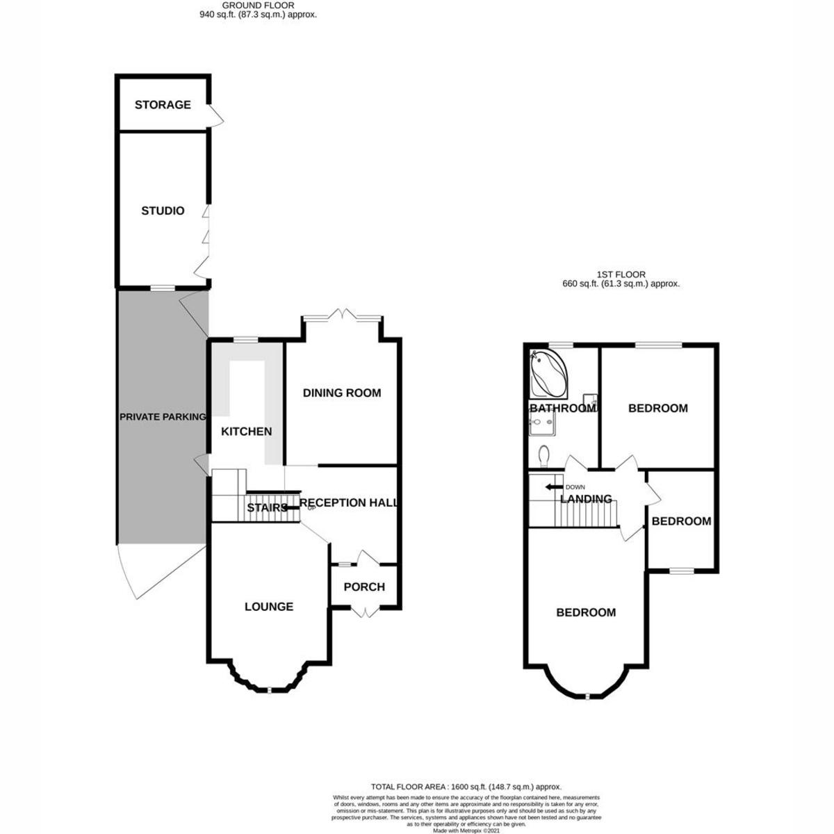 Floorplan 1 of Sutherland Boulevard, Leigh-on-sea, SS9