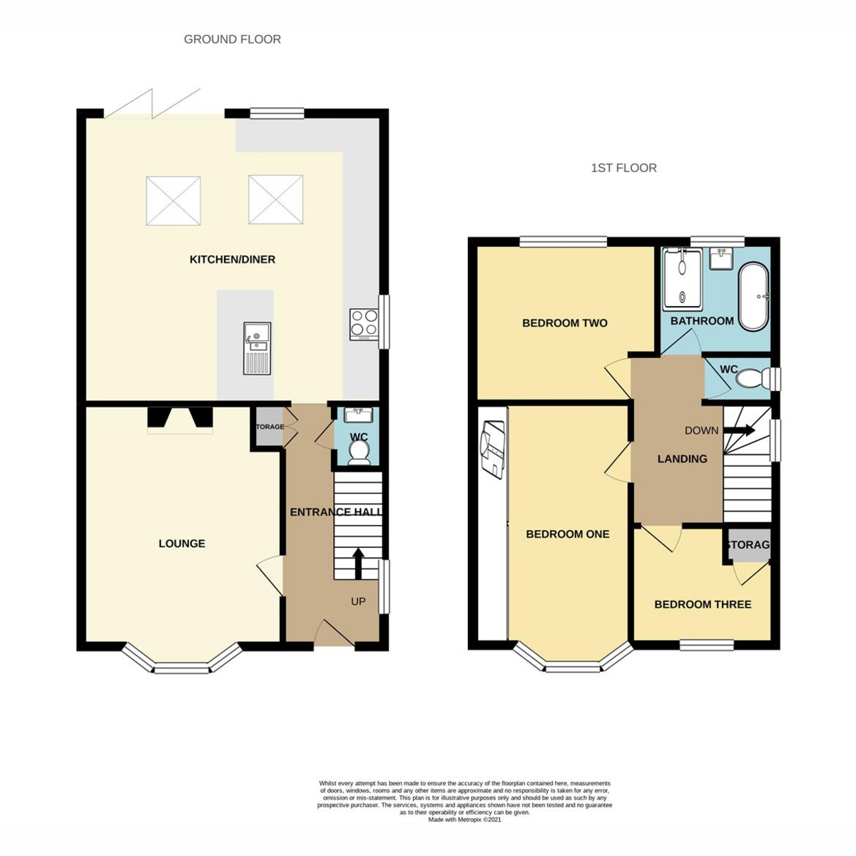 Floorplan 1 of Mountdale Gardens, Leigh-on-sea, SS9