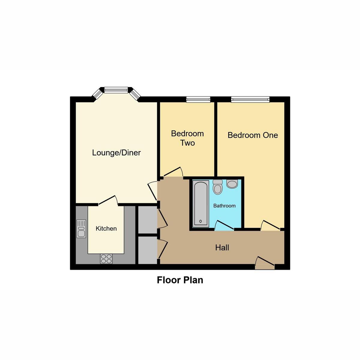 Floorplan 1 of Wayletts, Leigh-On-Sea, SS9