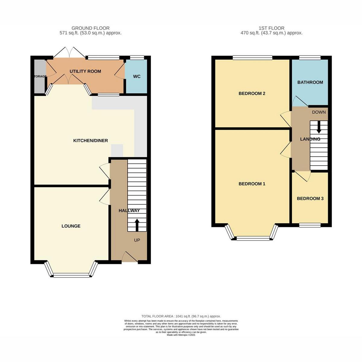 Floorplan 1 of Cranleigh Drive, Leigh-on-sea, SS9