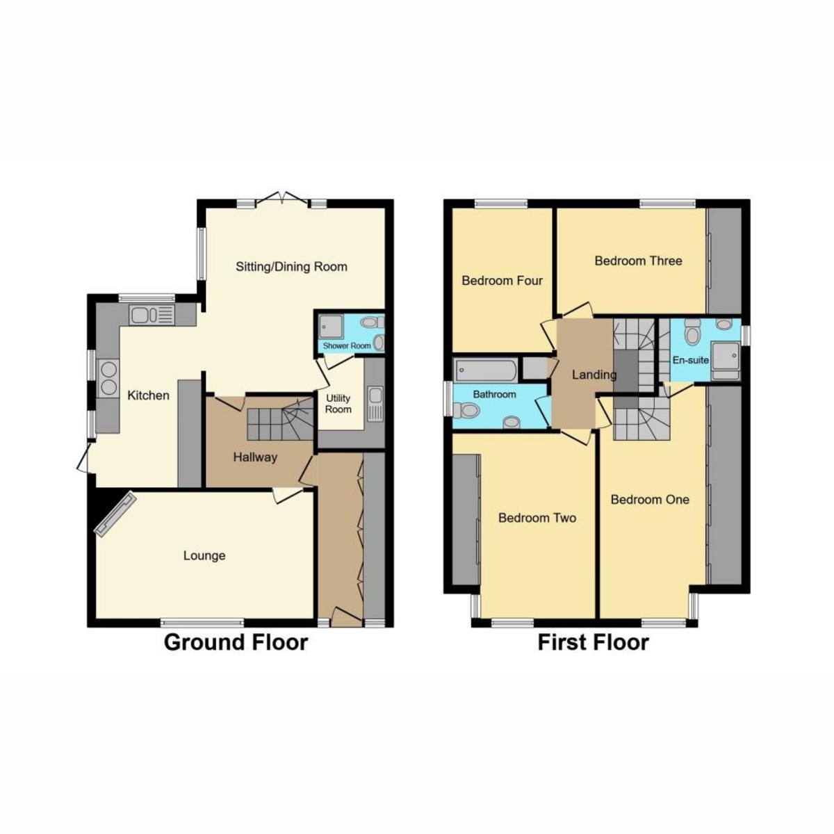 Floorplan 1 of Creek View Avenue Hullbridge, Hockley, SS5