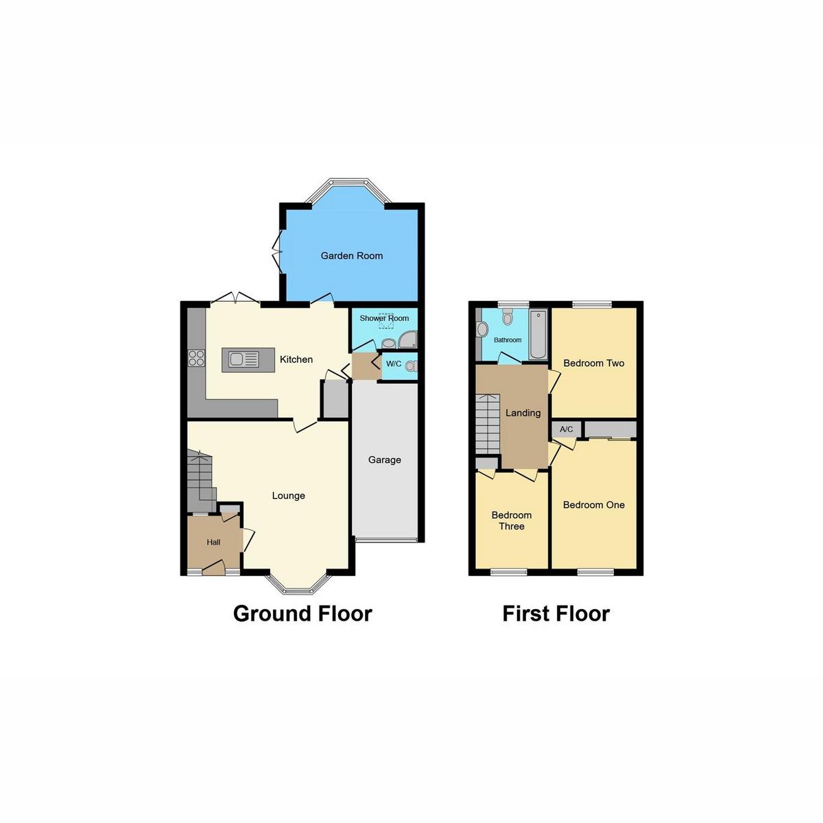 Floorplan 1 of Victoria Road, Rayleigh, SS6