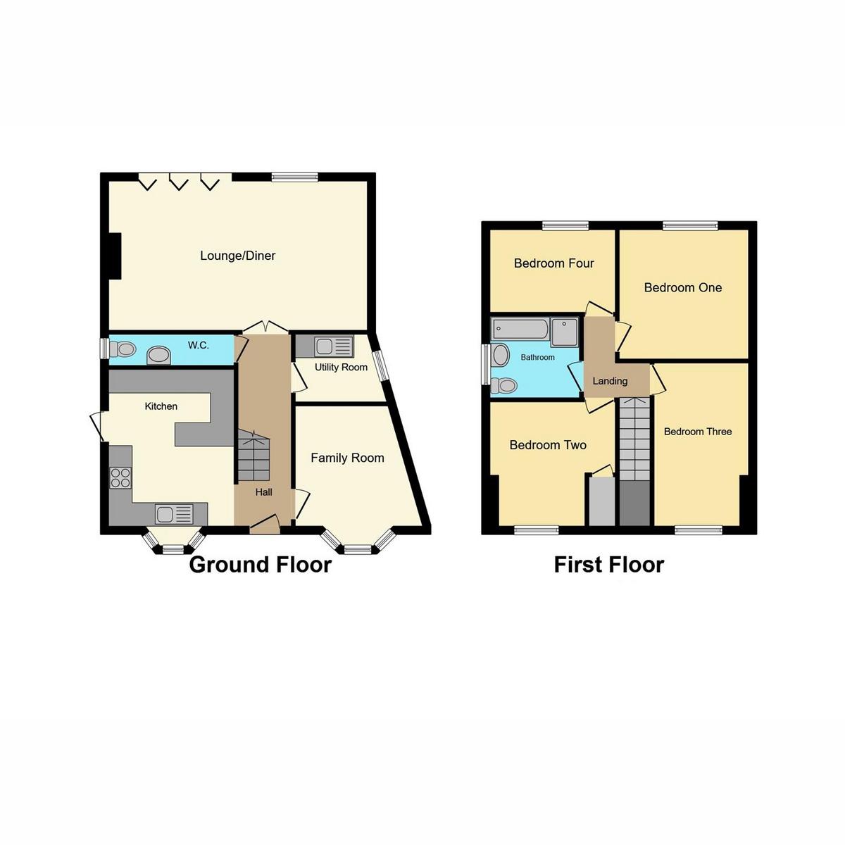 Floorplan 1 of Hambro Avenue, Rayleigh, SS6