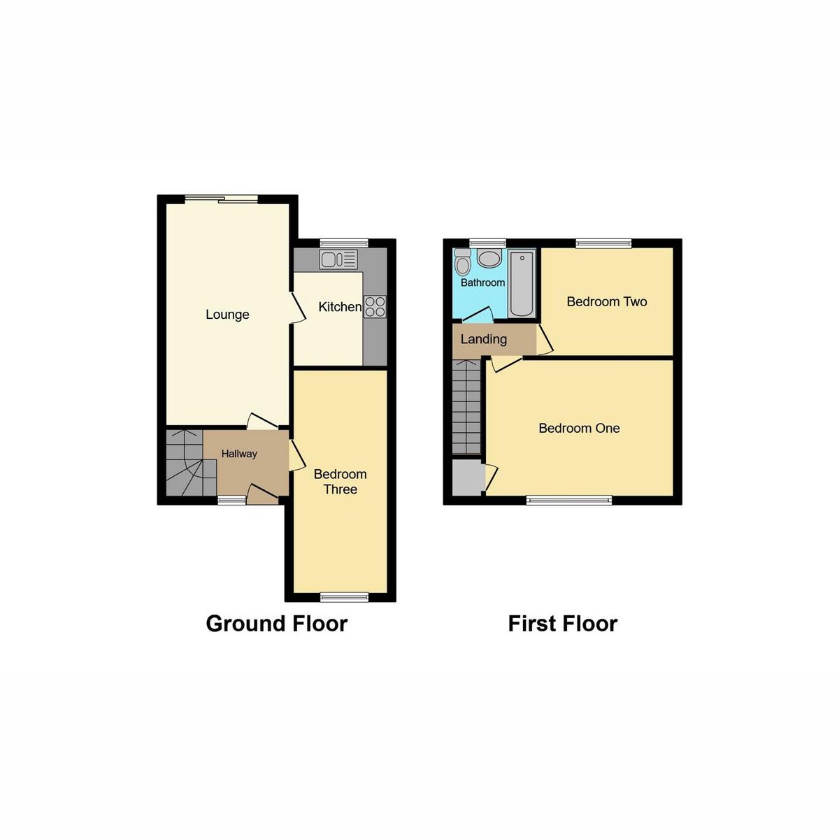 Floorplan 1 of Denham Vale, Rayleigh, SS6