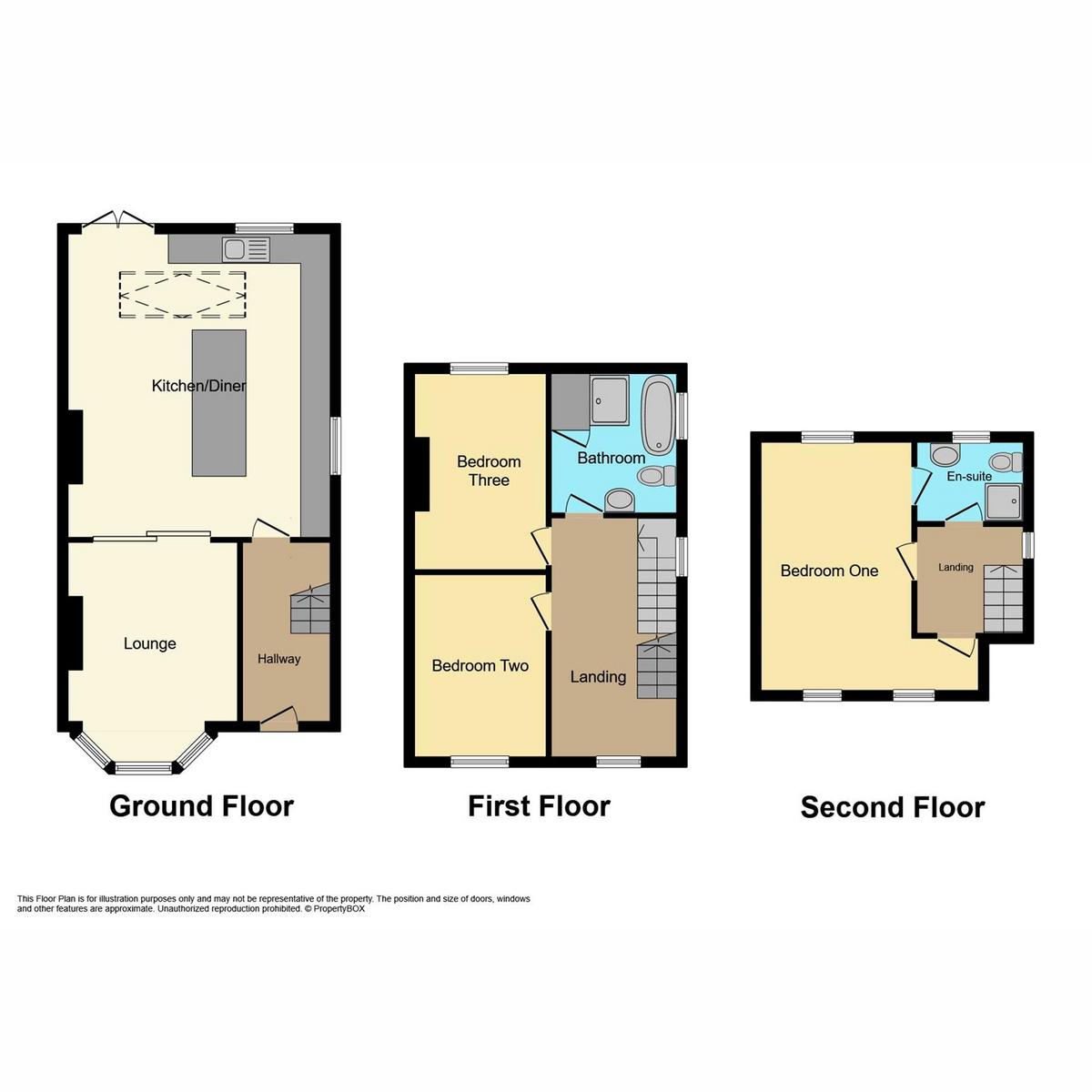 Floorplan 1 of London Road, Rayleigh, SS6
