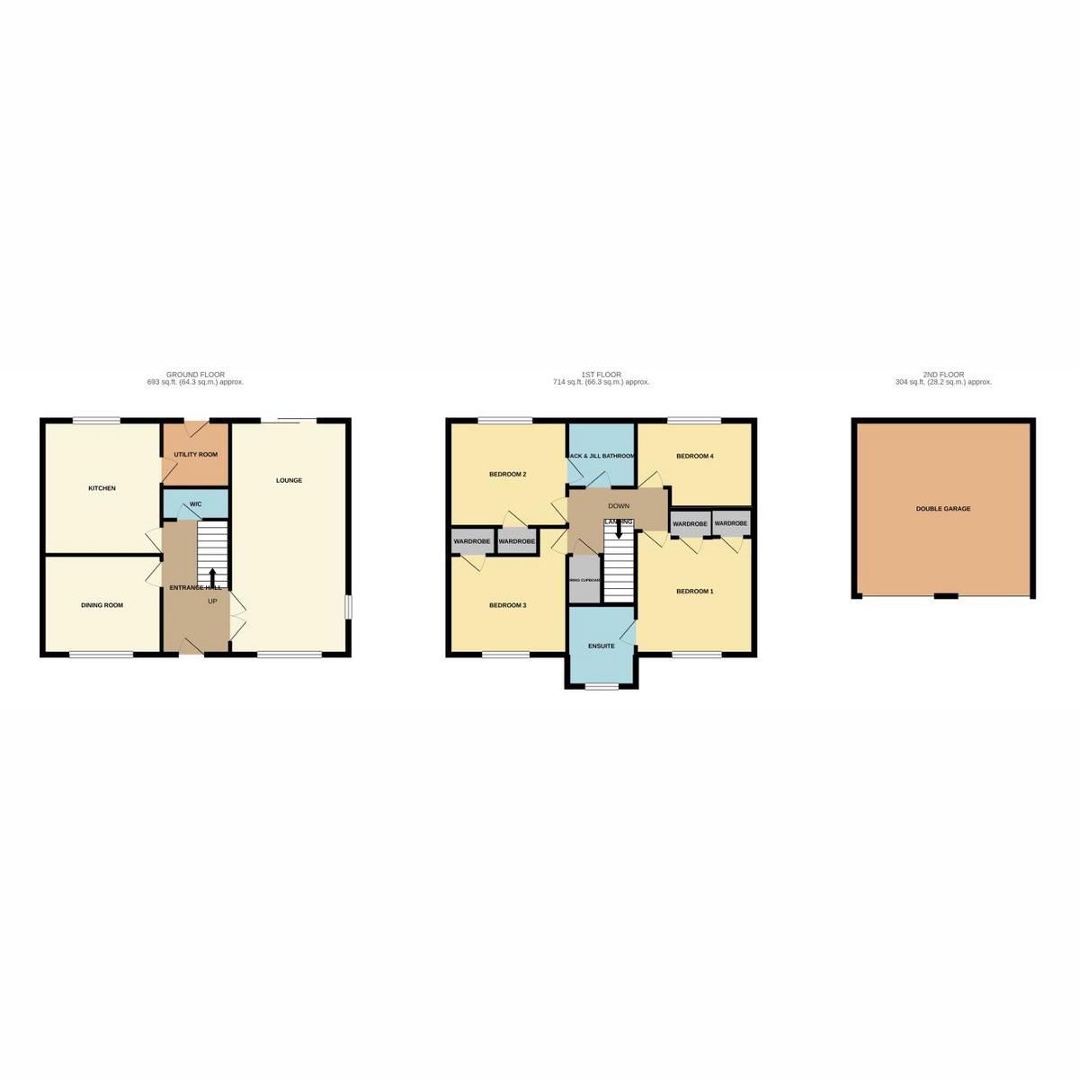 Floorplan 1 of Laburnum Way, Rayleigh, SS6