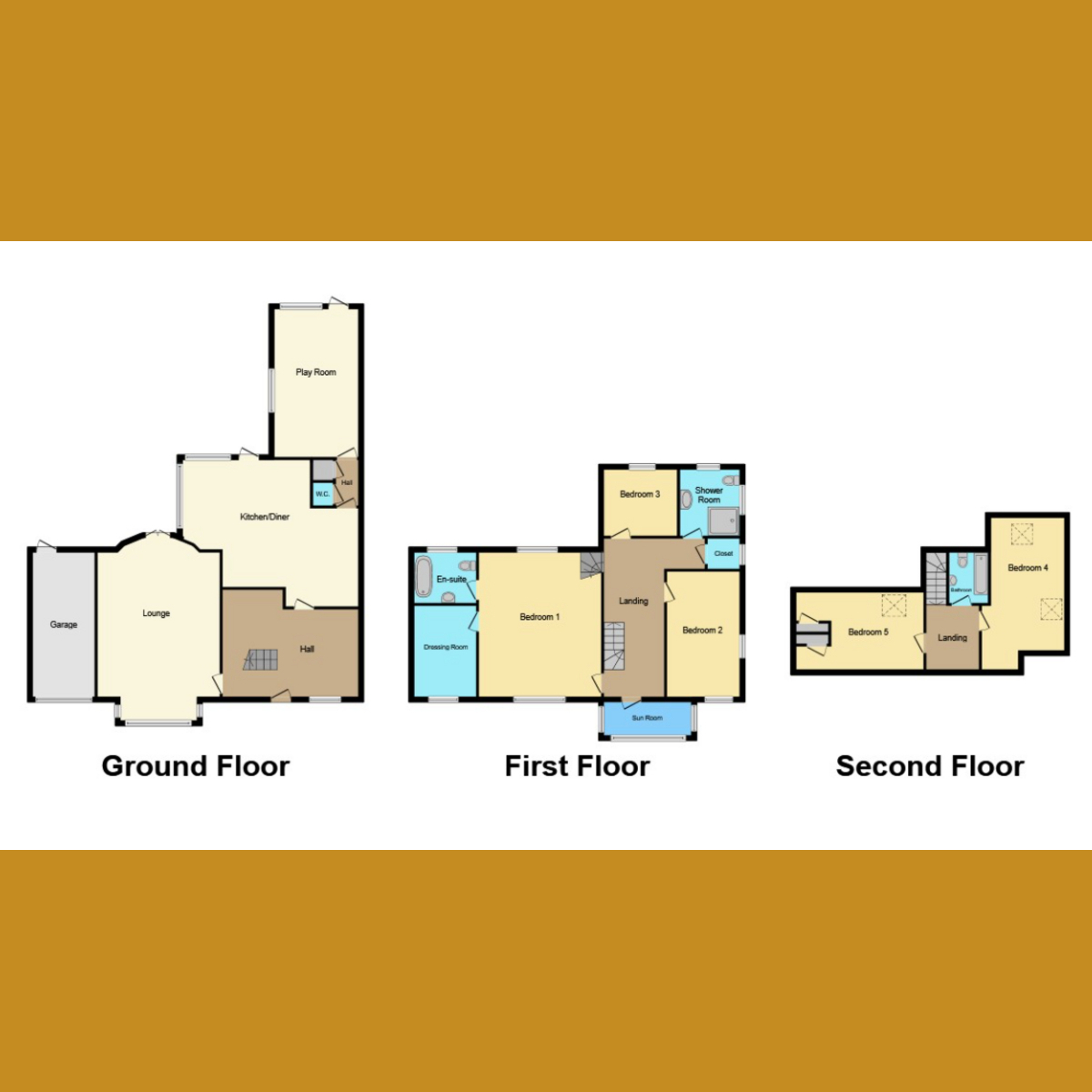 Floorplan 1 of St. Vincents Road, Westcliff-on-sea, SS0