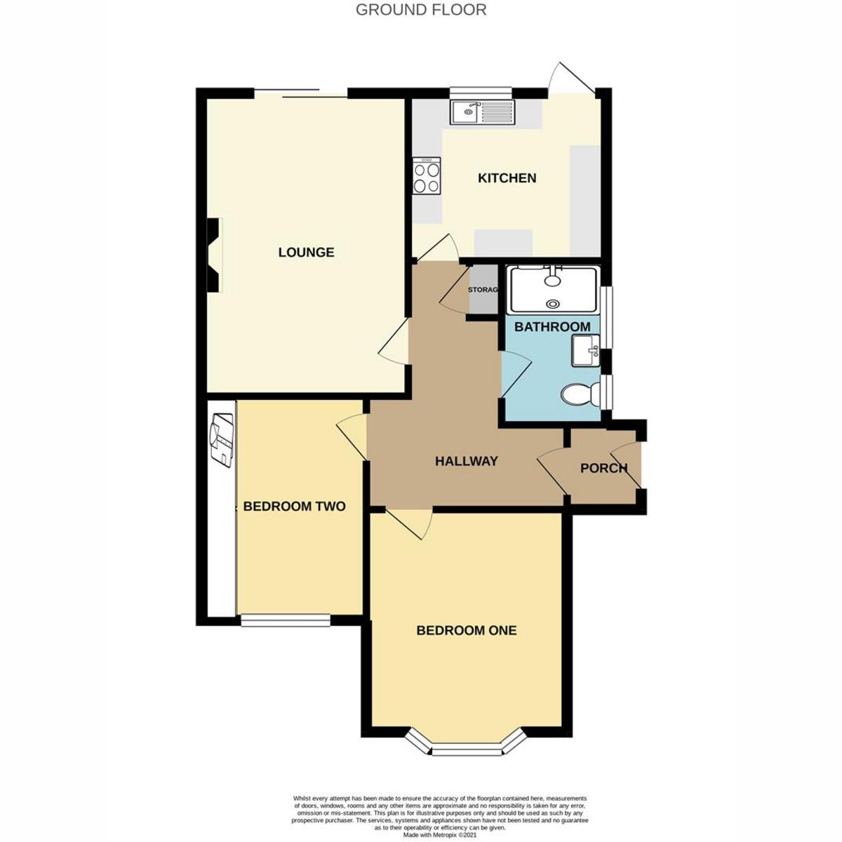 Floorplan 1 of Queen Annes Drive, Westcliff-on-sea, SS0