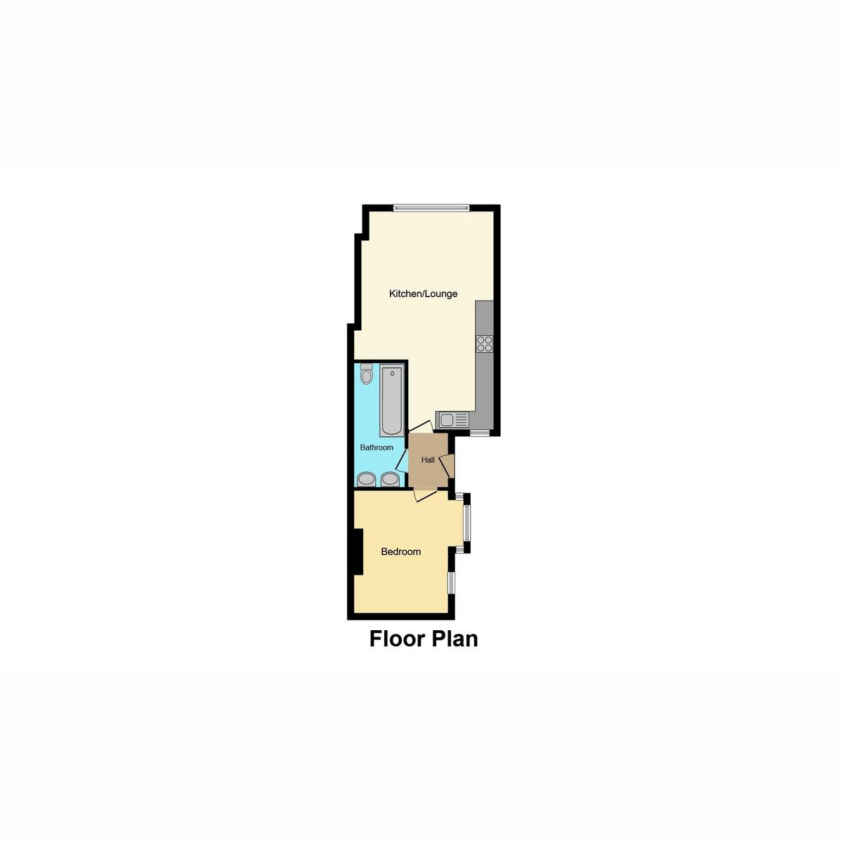 Floorplan 1 of Southsea Avenue, Leigh-on-sea, SS9
