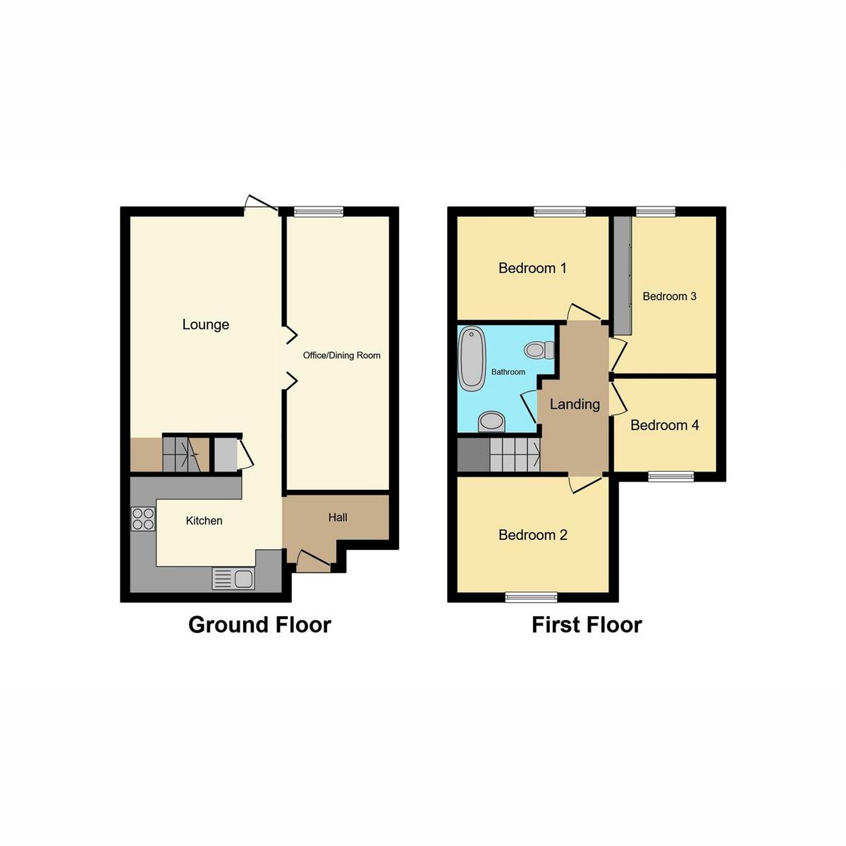 Floorplan 1 of Jardine Road, Basildon, SS13