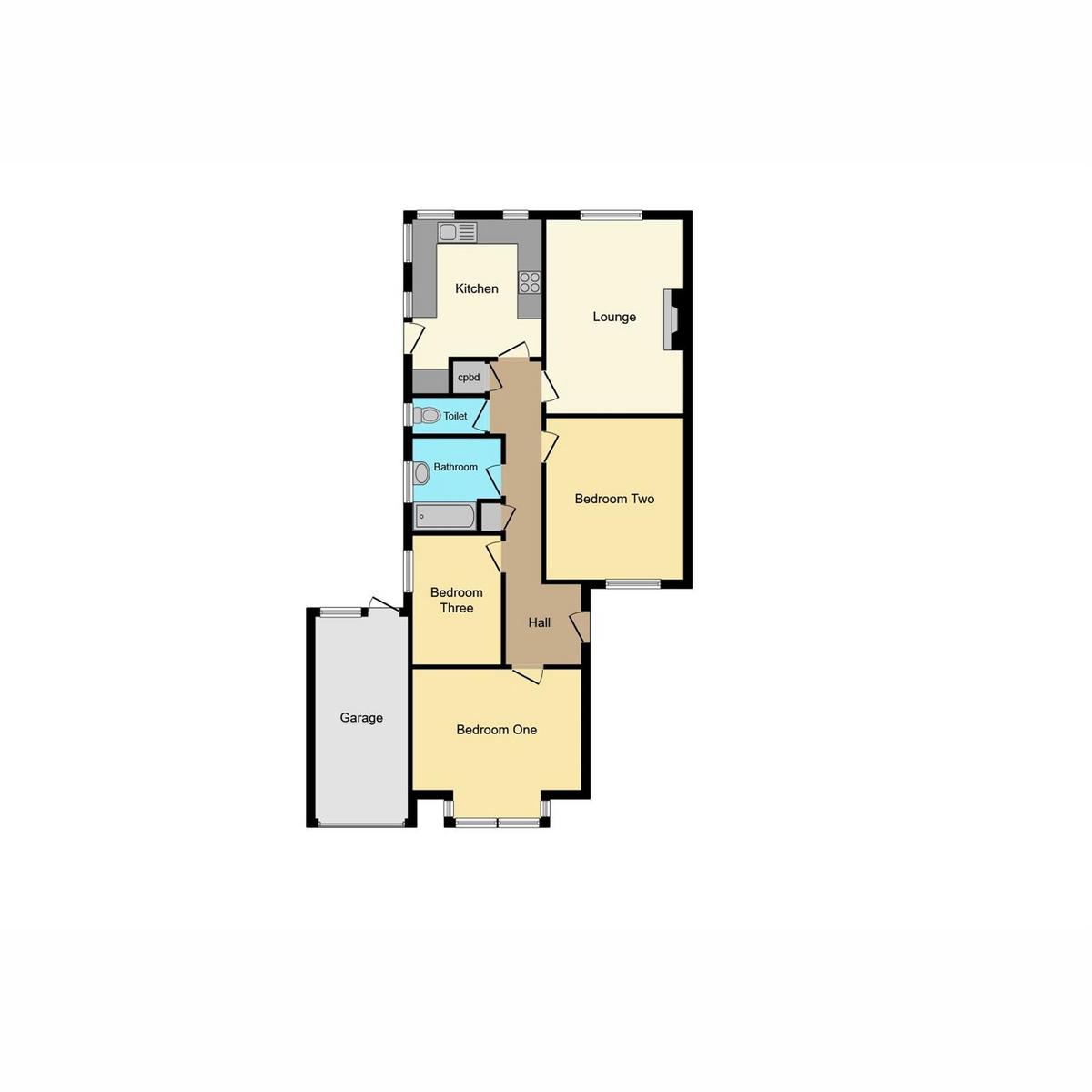 Floorplan 1 of Rayleigh Avenue, Leigh-on-sea, SS9
