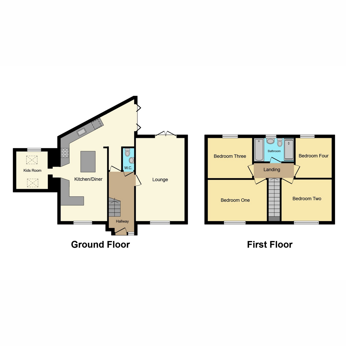 Floorplan 1 of 25 Sheridan Close, Rayleigh, Essex SS6 8YR